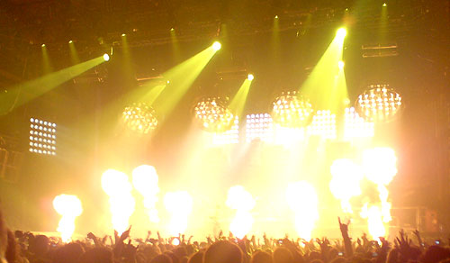 Rammstein at the NEC Arena